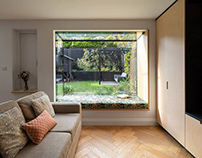 Charred House by Rider Stirland Architects
