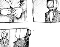 """""""Running To The Sea"""" Storyboards (music video)"""