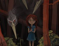 Shadow Forest illustrations