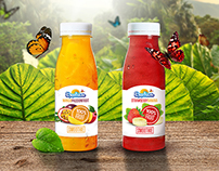 Exotica Smoothie Packaging Design