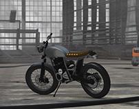 3D Modeling Verve moto