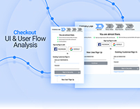 Checkout: UI & User Flow Analysis