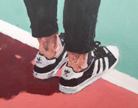 #the100dayProject Day DAY 41-44: Sneakers