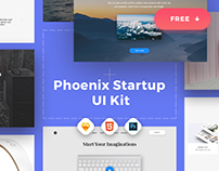 Phoenix Startup UI Kit / Free Samples