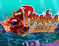 Piranha Attack - Videogame 2015 [Unity 3D]