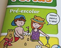 """Activity book """"O Meu Livro de Férias - Pré-escolar"""""""