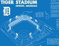 Tiger Stadium Blueprint