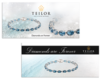 Banner & Magazine advertising for Teilor Bijoux