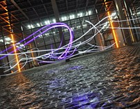 Palais de Justice de Nantes - Light Painting