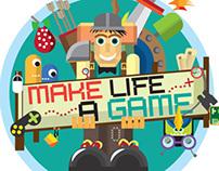 Make life a game