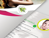 Affinity Salon - Brochure