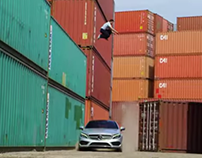 Parkour vs RC Car vs C-Class Coupe