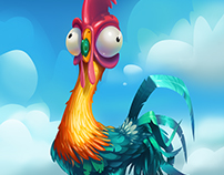 Hei Hei Chicken from Moana