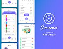 UI Design - Cronnum App