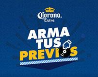 Corona Extra - Arma tus Previos