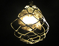 Knotted Rope Lamp