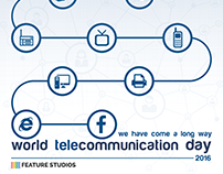 telecommunication day design...