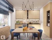 Scandinavian-style apartment