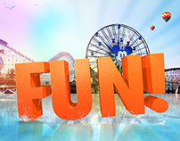 Huge Fun in the Disneyland