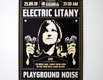 Electric Litany silkscreen-print