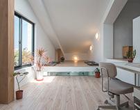 House F 層之家/ UrbanWasabi 都市山葵建築設計工作室