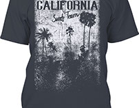 Mens California T-Shirts