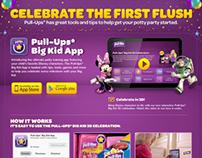 Big Kid App Landing Page