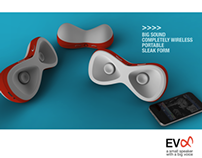 Evo: A small speaker with a big voice