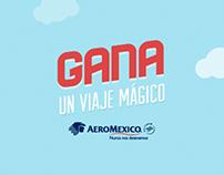 Gana un viaje mágico - Aeroméxico