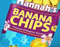 Hannah's Banana Chips