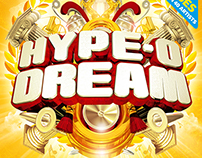 Hype-O-Dream 2015 Festival artwork