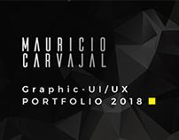Graphic Design + UI/UX Design Portfolio Teaser