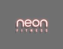 Logo Neon Fitness