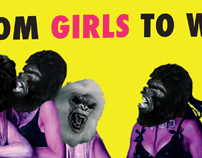 From Girls To Women: Guerilla Girls Book Cover