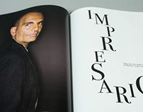 Impresario: editorial feature