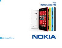 Nokia Lumia 720 Slogan