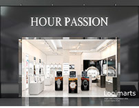 Commercial Watch Store 3D Rendering