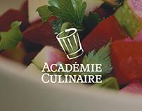 Académie Culinaire - Site web
