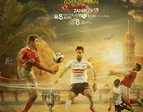 AL-AHLY & ZAMALEK MATCH CARD