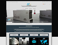 MA Instruments - Responsive Multilingual Website