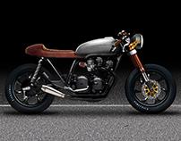 Honda CB 750 personal project new design
