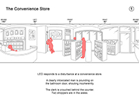 360 Video Storyboards: The Convenience Store