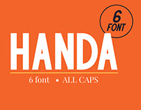 HANDA - Sans Serif Font