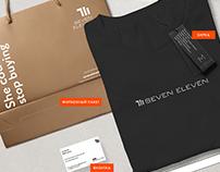 7/11 Seven eleven Redesign logo for designer clothing.