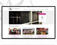 Nueva web para el Colegio de Escribanos de Salta