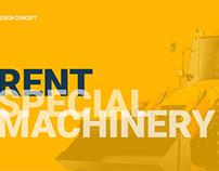 Rent of construction equipment