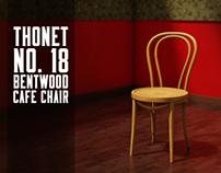 Ideanav - Thonet no 18 bentwood cafe chair render