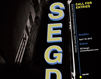 SEGD 2013 Call for Entries Poster