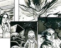 Wrath Issue 1 Sample Inks