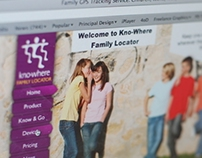 'Kno-Where' Website Design